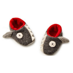 Handcrafted Baby Shark Slippers
