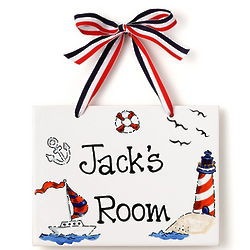 Personalized Nautical Name Plaque