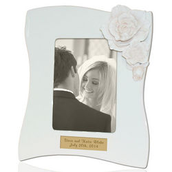 Personalized Gardenia Picture Frame