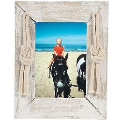 Nautical Rope Accented Picture Frame