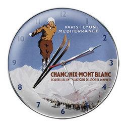 Chamonix-Mont Blanc Ski Clock