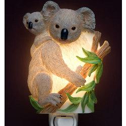 Mom and Baby Koala Bear Night Light