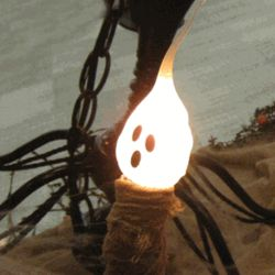 Ghost Glow Silicone Dipped Bulb