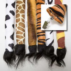 Animal Tail Clip-Ons