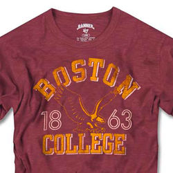 Boston College Eagles Vintage Scrum Tee