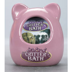 Ceramic Critter Bath House