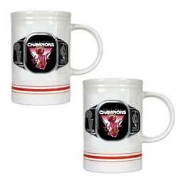 Miami Heat NBA Champions Ceramic Beer Mugs