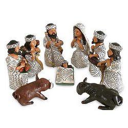 Amazon Christmas Ceramic Nativity Scene