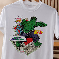 Personalized Marvel Comics Superhero T-Shirt