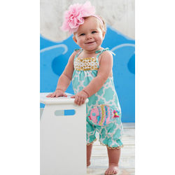 Baby Fish Design Romper