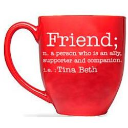 Personalized Friend Definition Mug