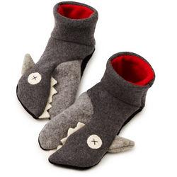 Toddler Shark Slippers