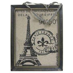 Eiffel Tower with Fleu de Lis Wall Decor