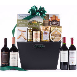 Senior Executive Selection Cabernet Quartet and Snack Basket
