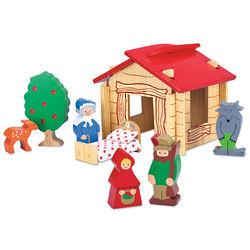 Wood Fairy Tale Cottage Set