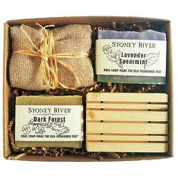 Natural Stoney River Soap Gift Box