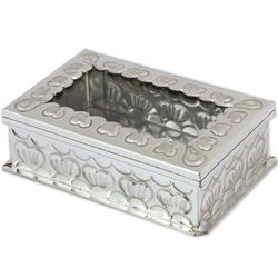 Recalling Love Tin and Glass Decorative Box