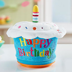 Happy Birthday Sing-Along Animated Cupcake