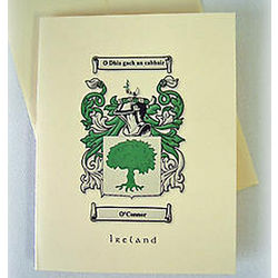 Personalized Coat of Arms Note Cards