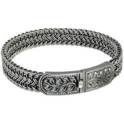 Unity Sterling Silver Bangle Bracelet