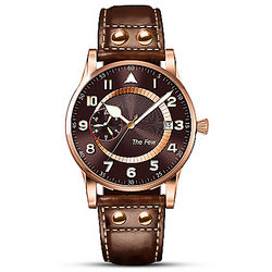 Men's 22K Rose Gold-Plated Battle of Britain Watch