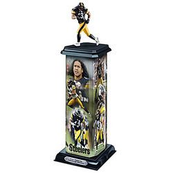Pittsburgh Steelers Troy Polamalu Illuminating Sculpture