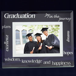 Graduation 4x6 Glass Frame