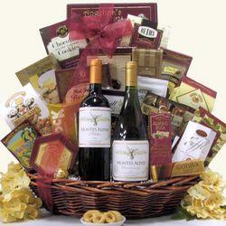 Alphas Wine Gift Basket