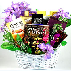 To a Wonderful Woman Gift Basket