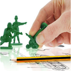 War on Error Army Man Erasers