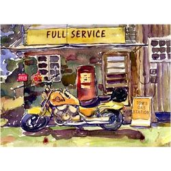 Fill Er Up Personalized Print