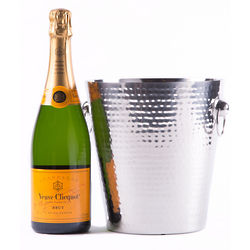 Veuve Clicquot and Champagne Bucket Gift Set