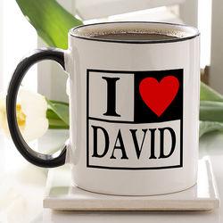 Lovin' It Coffee Mug Personalized Coffee Mug