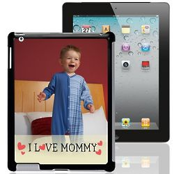 I Love Mommy Personalized iPad Case