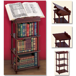 Book Stand with Bookcase