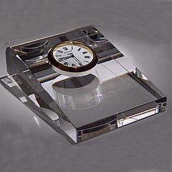 Superior Crystal Desk Clock