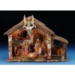 Italian Lighted Fontanini Nativity