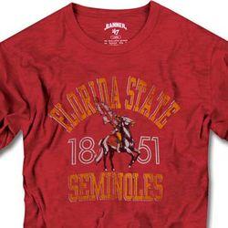 Florida State Seminoles Banner '47 Vintage Scrum Tee