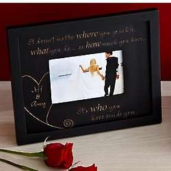 Personalized Beside You Photo Frame