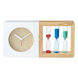 Three Color Hourglass Alarm Clock
