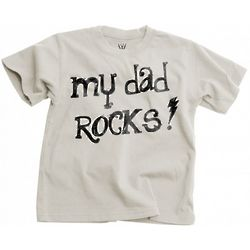 Toddler My Dad Rocks Short Sleeve T-Shirt