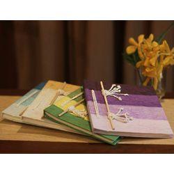 Vibrant Notes Natural Fiber Notebooks