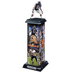 Chicago Bears Brian Urlacher Illuminating Sculpture