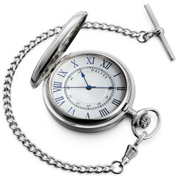 Full Silver Pocket Watch
