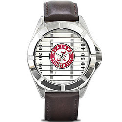 University of Alabama Crimson Tide Men's Watch with Team Logo