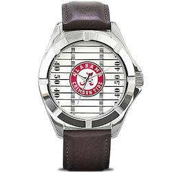 University of Alabama Crimson Tide Men's Watch with Team Logo