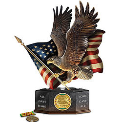 Pride and Brotherhood Vietnam Veterans Lighted Eagle Tribute