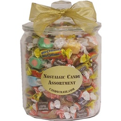 Penny Chewy Candy Glass Jar