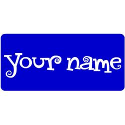 Rectanlge Name Magnet with Rounded Corners