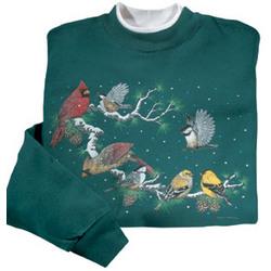 Woodland Birds Sweatshirt
